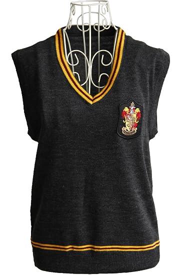 9ae855063 Amazon.com  Harry Potter Gryffindor Vest Costume Sweater Waistcoat ...