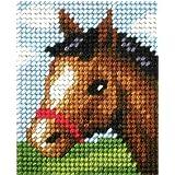 Orchidea Kit à broder pour enfants demi point de croix cheval 9724