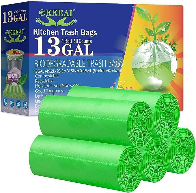 Okkeai Biodegradable Trash Bags