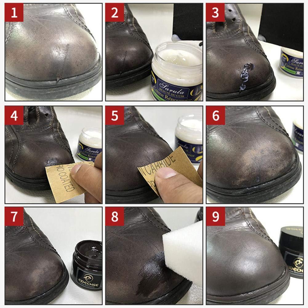 Crema reparadora de Piel para Asientos de Coche, reparación ...