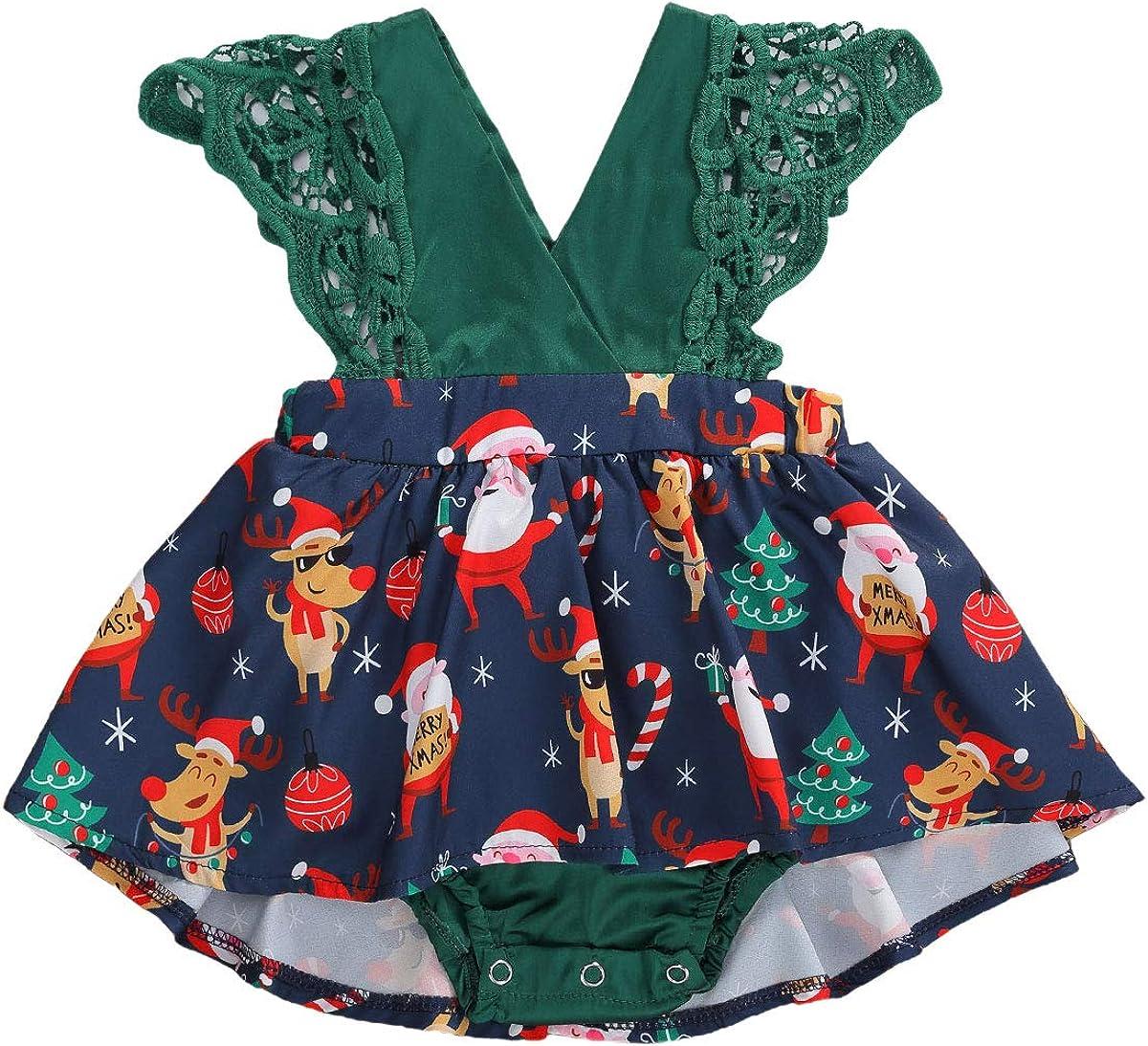 Conjunto de pijama de Pap/á Noel para reci/én nacidos