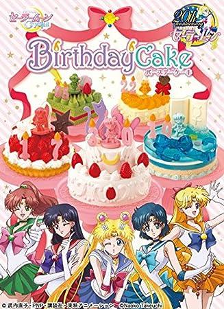 Caja sorpresa miniaturas pastel cumpleaños Sailor Moon ...