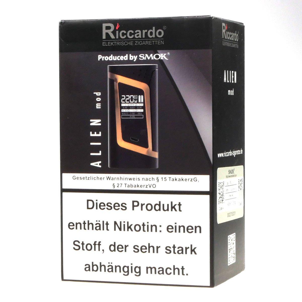 SMOK Alien Box MOD 220W para la celda 2 x 18650 batería, plata - ni nicotina, ni tabaco: Amazon.es: Salud y cuidado personal