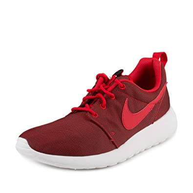 Nike Roshe Run Red & Gray | Size 13