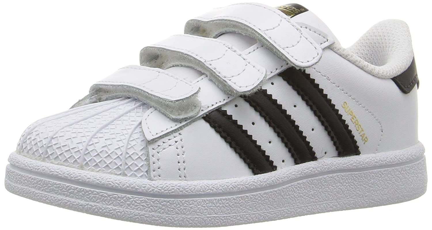 timeless design dc30d 97a34 Amazon.com   adidas Originals Superstar Foundation CF I Basketball Sneaker  (Infant Toddler)   Sneakers