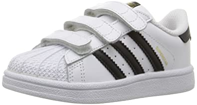 2dccd9940686 adidas Superstar Trainer White White Size  9.5K  Amazon.co.uk  Shoes ...