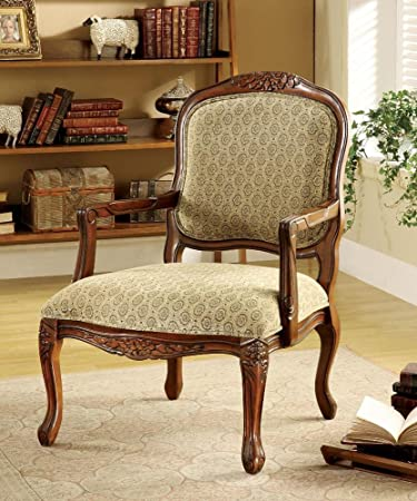 Miraculous Amazon Com Fa Furnishing Dunstable Hand Carved Wood Trim Unemploymentrelief Wooden Chair Designs For Living Room Unemploymentrelieforg