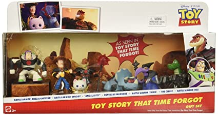 64c16ff9eda74 Disney Pixar Toy Story That Time Forgot - Set de 7 figuras en varios colores