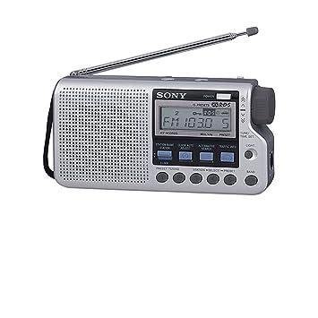 Sony ICFM33RDSS - Radio portátil digital (AM/FM) con sistema RDS, color plateado: Amazon.es: Electrónica