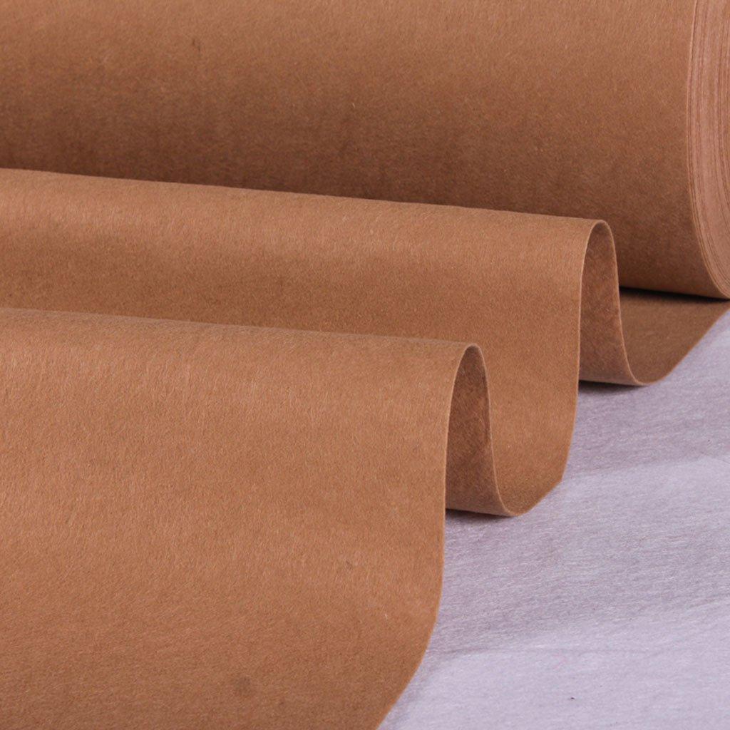 Marron GYM Tapis de Yoga jetable pour Tapis de Yoga (Couleur   marron, Taille   1.5  20M) 110M