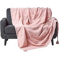 Homescapes Jeté de lit ou Jeté de canapé – Collection Rajput 100% Coton