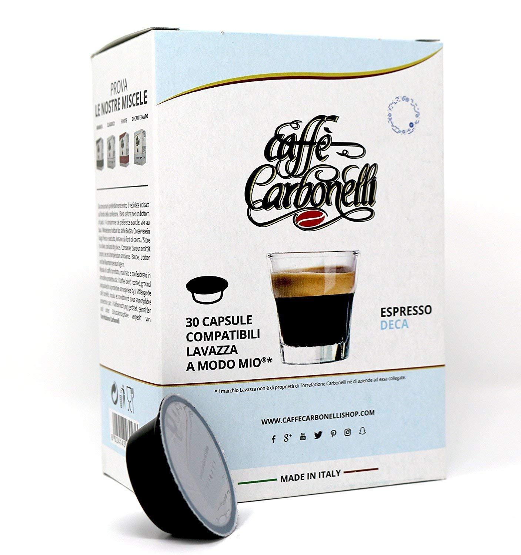 120 Cápsulas compatibles Lavazza a modo mio - Caffè Carbonelli ...