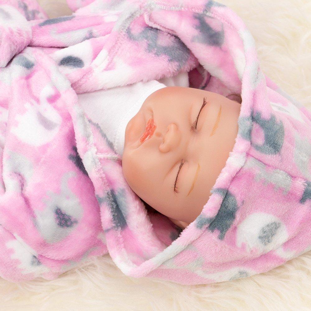 Bademantel mit Kapuze f/ür Neugeborene /& Kleinkinder First Steps Baby Bademantel rosa Motiv: Elefant Gr/ö/ße: Einheitsgr/ö/ße