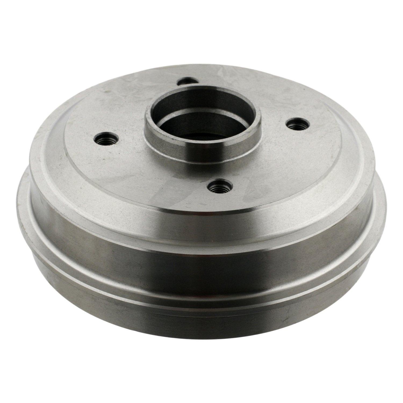 febi bilstein 10537 brake drum without wheel bearing (rear axle)  - Pack of 1