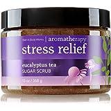 Bath and Body Works Eucalyptus Tea 13 Oz Sugar Scrub Stress Relief Aromatherapy