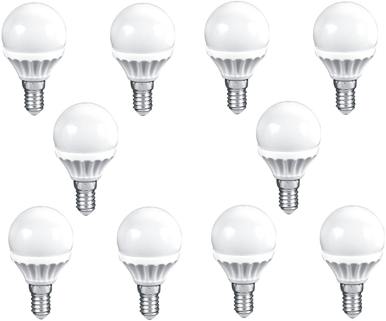 3er Set LED Glühfaden Leuchtmittel 4 Watt E14 Lampen 300 Lumen warmweiß EEK A+