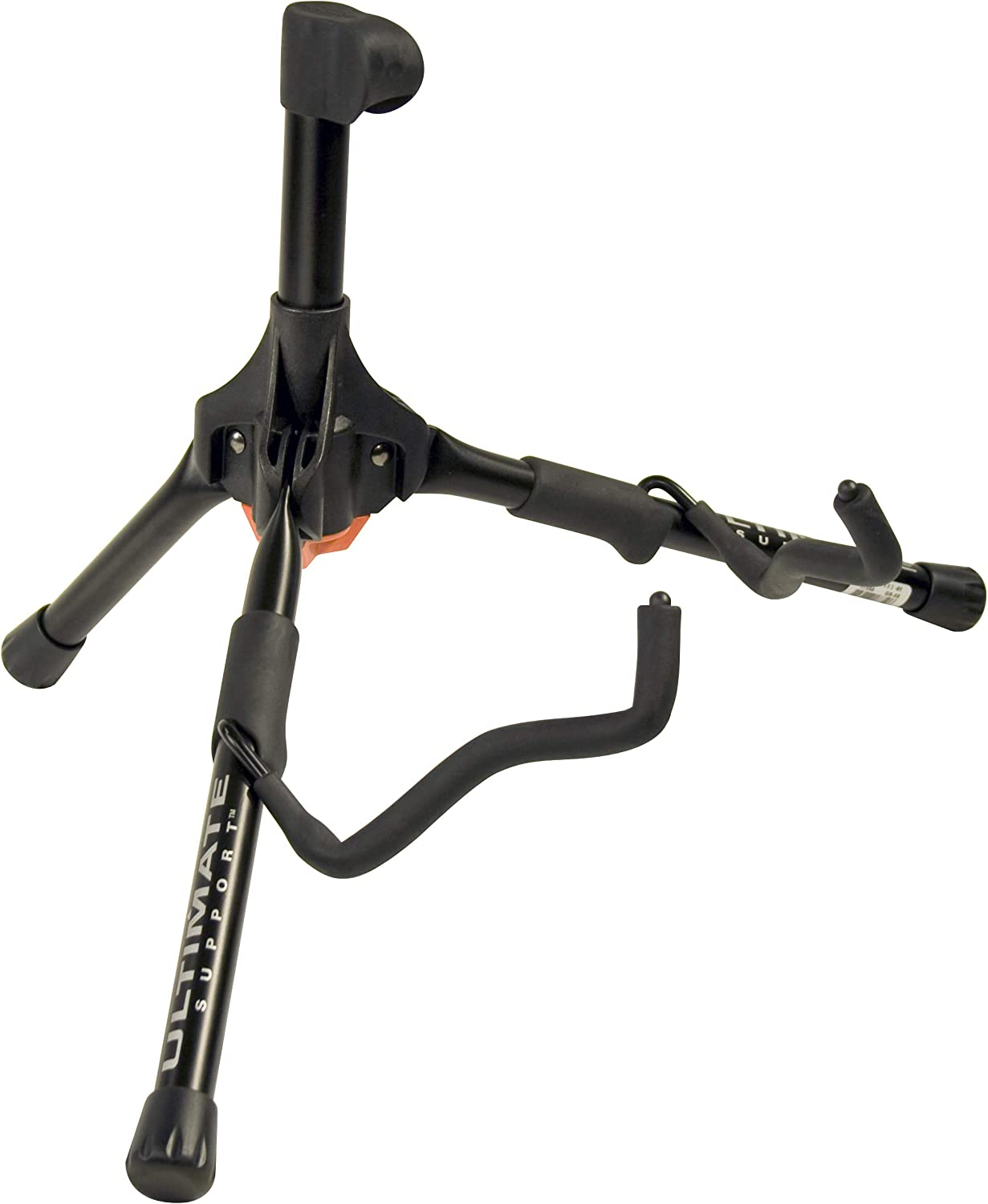 Ultimate Support GS-100 Genesis Series Guitar Stand with Locking Legs and Security Strap Yoke