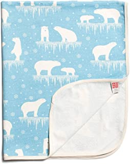 product image for Winter Water Factory Orgainc Cotton French Terry Baby Blanket, Boys, Girls & Unisex
