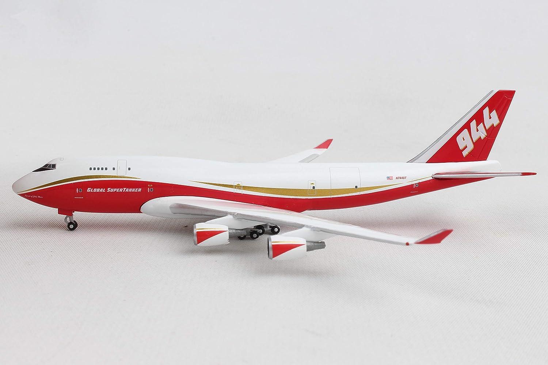 Herpa 531955 Global Supertanker Services Boeing 747-400 N744ST 1:500