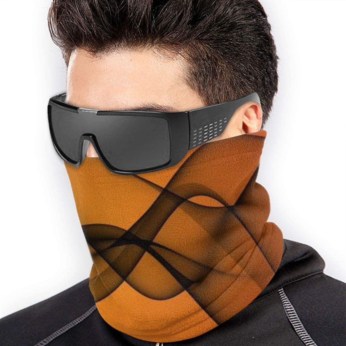 Thick Dustproof Breathable Neck Cover MasakoJMassie Mens Warm Windproof Face Cover