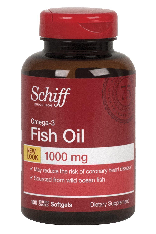 SCHIFF VITAMINS OMEGA-3 FISH OIL 100 CT 1-EA