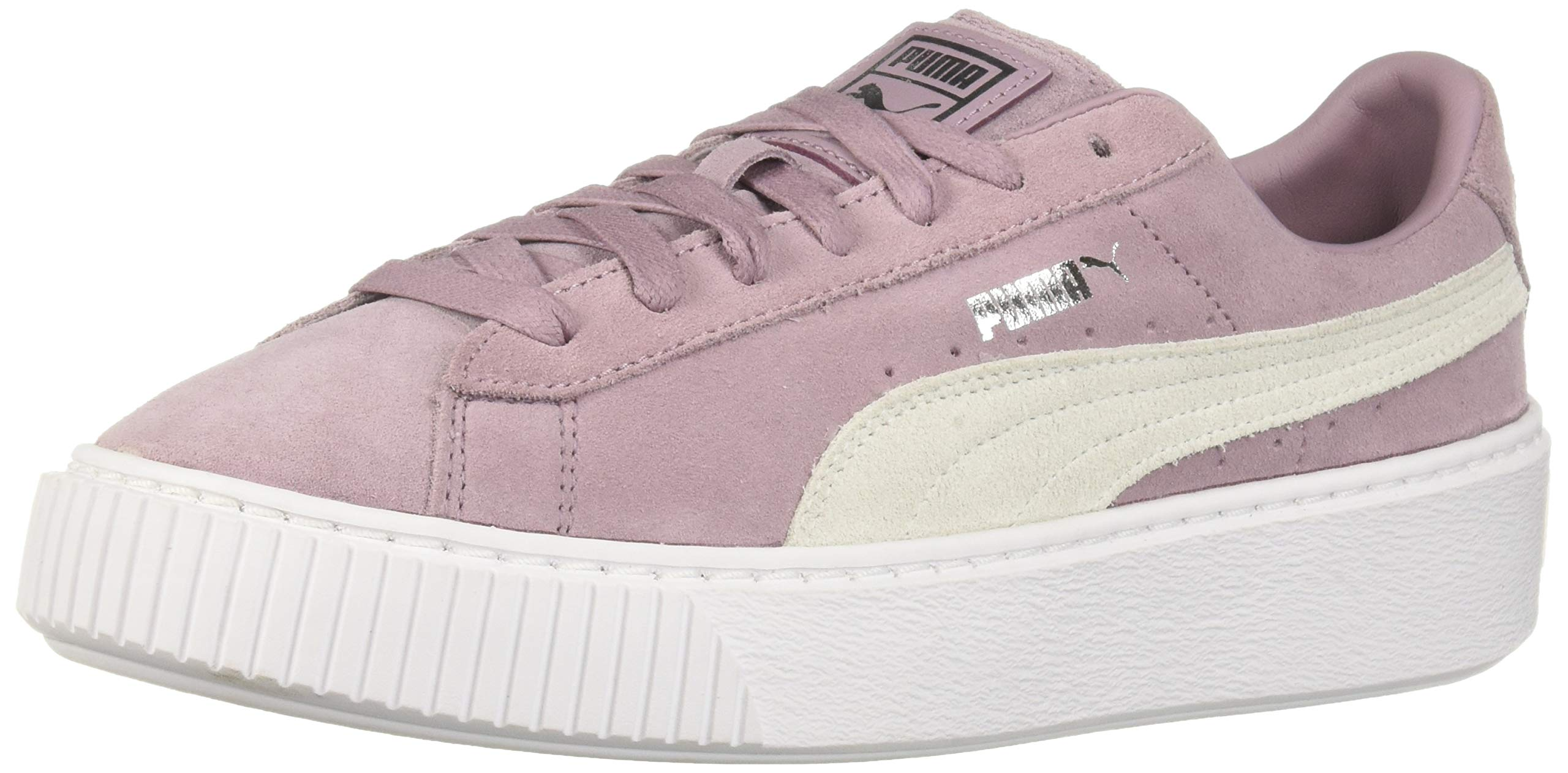 Galleon PUMA Women's Suede Platform Sneaker, Elderberry