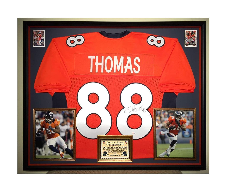 Premium Framed Demaryius Thomas AutographedSigned Denver Broncos