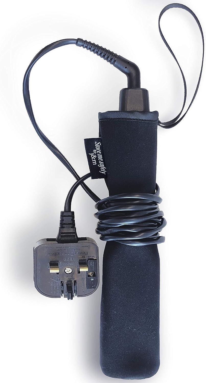 Bolsa elástica para alisar el cabello - Protección de neopreno con lazo de cable para un fácil almacenamiento y viaje