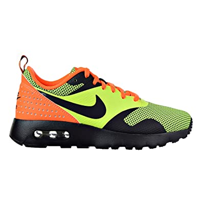 new concept 2605d f8240 Nike Air Max Tavas (GS) Big Kids Shoes VoltBlackTotal Orange 814443-700  (7 M US) Buy Online at Low Prices in India - Amazon.in