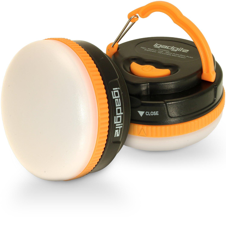 iGadgitz Xtra Lumin 150 Portable 150lm LED Lantern with 1 Year Warranty