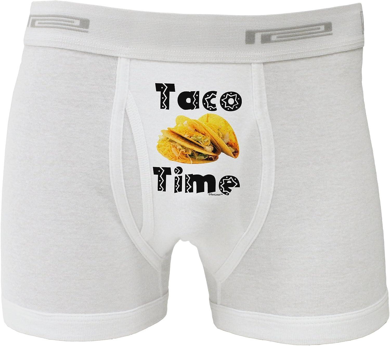TOOLOUD Cute Taco Lion Text Boxers Shorts