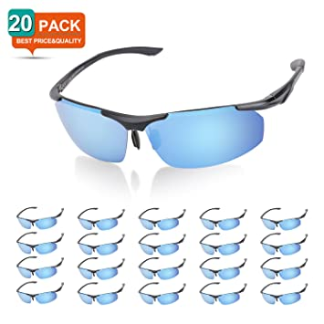 ZHARA polarizadas Deportes Gafas de sol, gafas de montura Metal de aluminio irrompible Designer Fashion