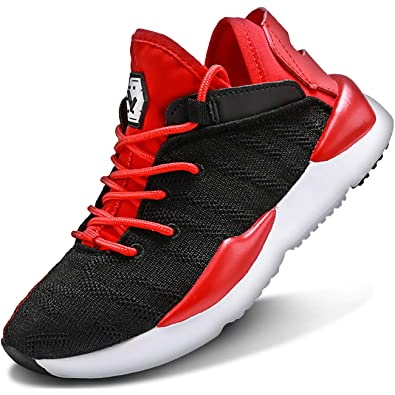 900eb0bbf524c5 Amazon.com   Elaphurus Kid's Sneaker Lightweight Mesh Walking Gym Tennis  Athletic Running Shoes for Boys Girls   Running