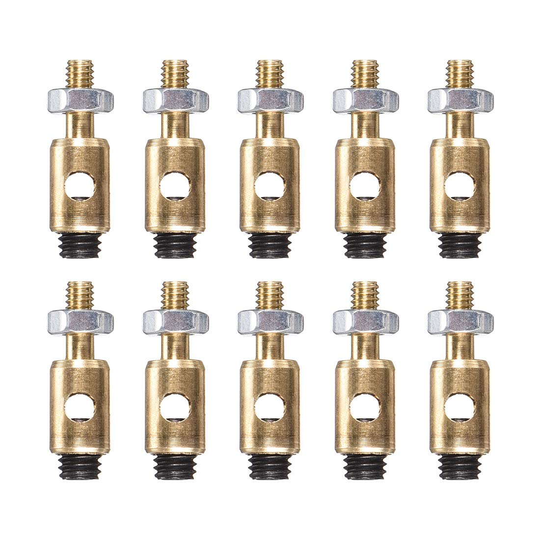 uxcell Linkage Stoppers Connecting Servo Arm,Push Rod for RC Airplane,D4x2.5mm 10pcs
