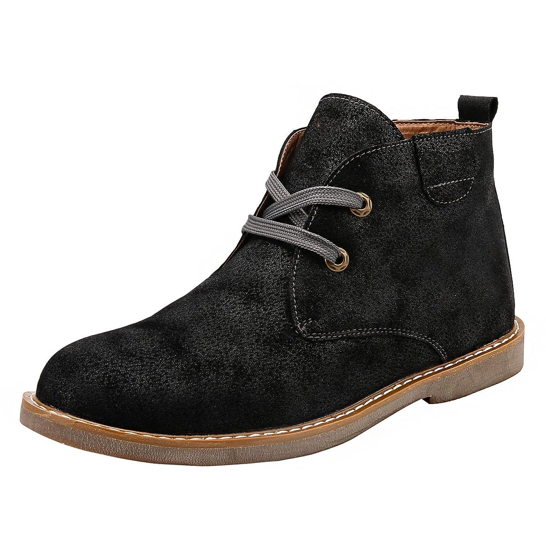 Stivali piatti alla moda da uomo Casual Desert Boots Fodera invernale in cotone impermeabile , 42