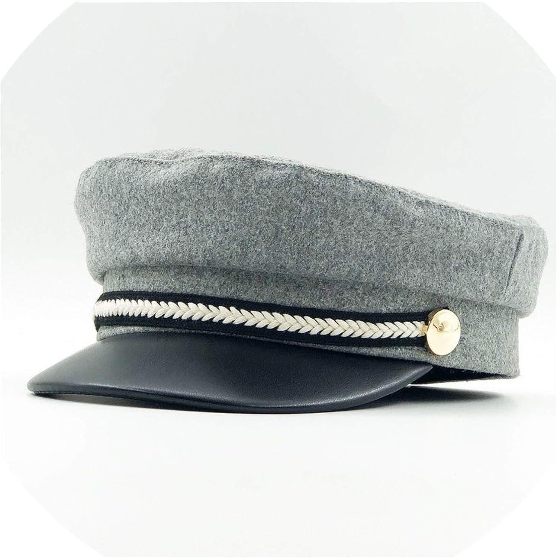 Women Wool Felt Hats Winter...