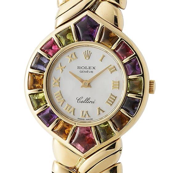 Rolex Cellini cuarzo mujer reloj 2717 - 8 _ (Certificado) de segunda mano: Rolex: Amazon.es: Relojes