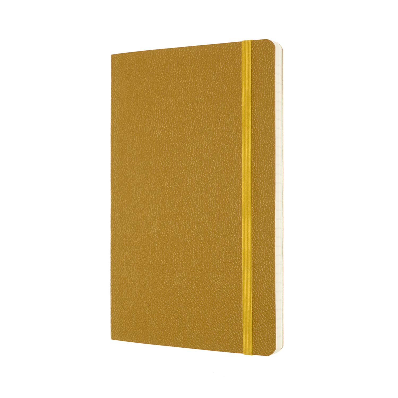 Moleskine Leather Notebook 176 Pagine Rosso Bordeaux Copertina Rigida Edizione Limitata con Cofanetto e Coperchio Trasparente Taccuino in Pelle Pagina a Righe Formato Large 13 x 21