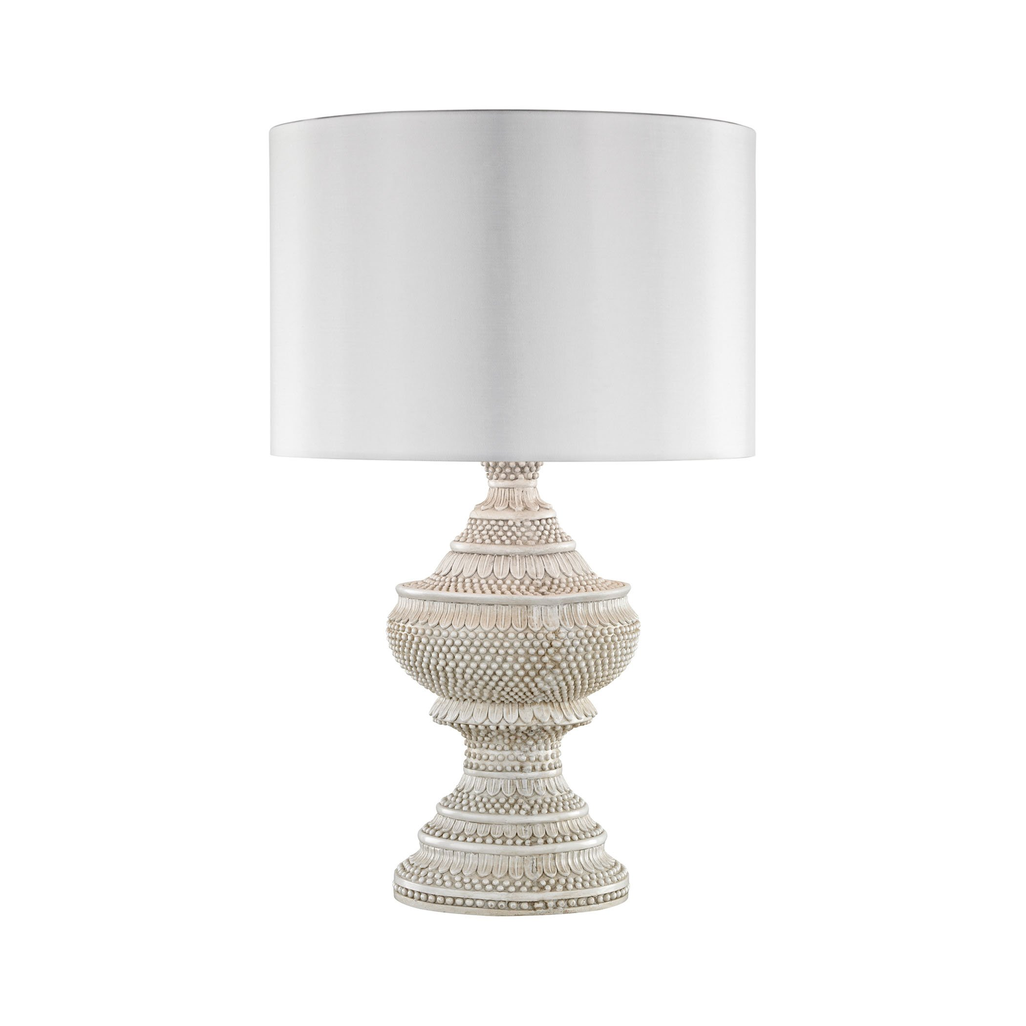 Kokopo Outdoor Table Lamp With White Shade by AR Lighting