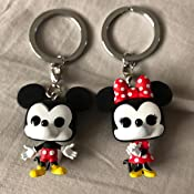 Funko Pop! Keychain: Mickey & Minnie 2 Pack Toy, Multicolor