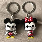 Amazon.com: Funko Pop! Llavero: Mickey & Minnie 2 unidades ...