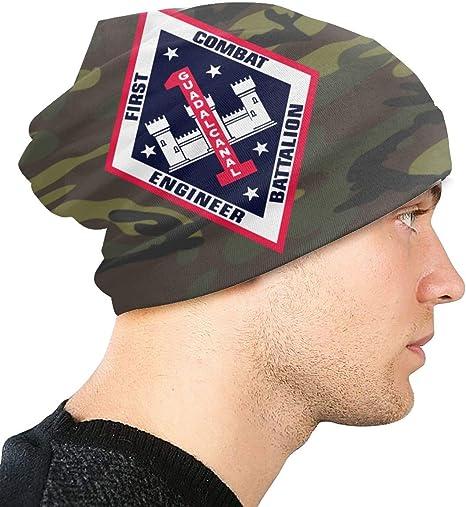 JINGUImao US Army 4th Sustainment Brigade Unisex Warm Hat Knit Hat Skull Cap Beanies Cap
