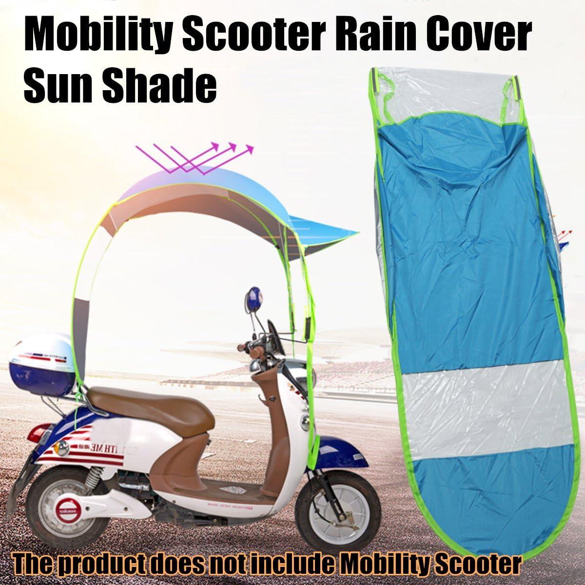 0.8 Viviance Mobility Scooter Soleil Pluie Couverture De Vent Voiture /Électrique Emp/êcher Parapluie 2.8 0.75 M Bleu