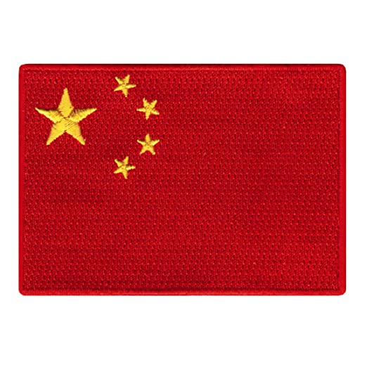 5342307a5 Amazon.com: People's Republic of China Flag Embroidered Patch ...