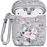 Airpod Case AIRSPO Airpods Case Cover for Apple AirPods 2&1 Cute Airpod Case for Girls Silicone Protective Skin Airpods…