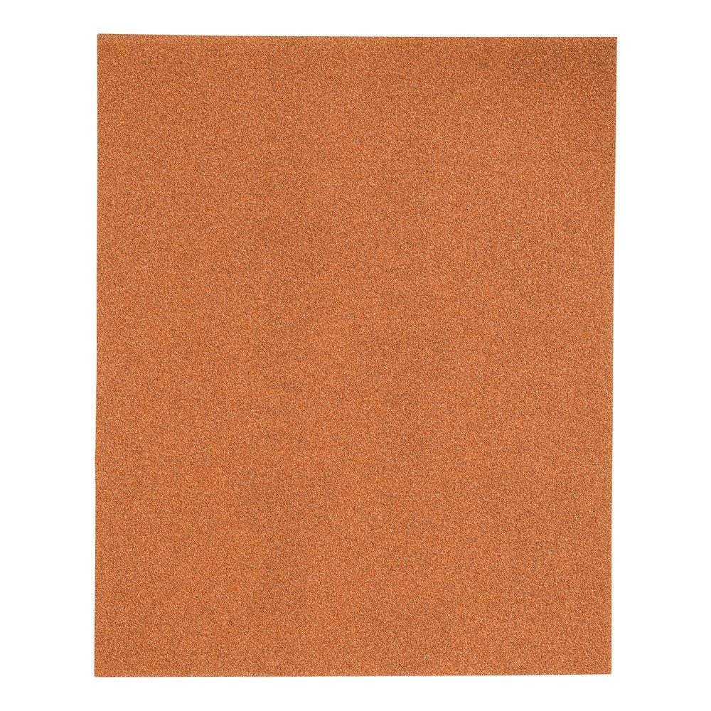 Renewed Mercer Industries 205100A Grit 100 A-Weight 9 x 11 Garnet Paper Sheets 100-Pack
