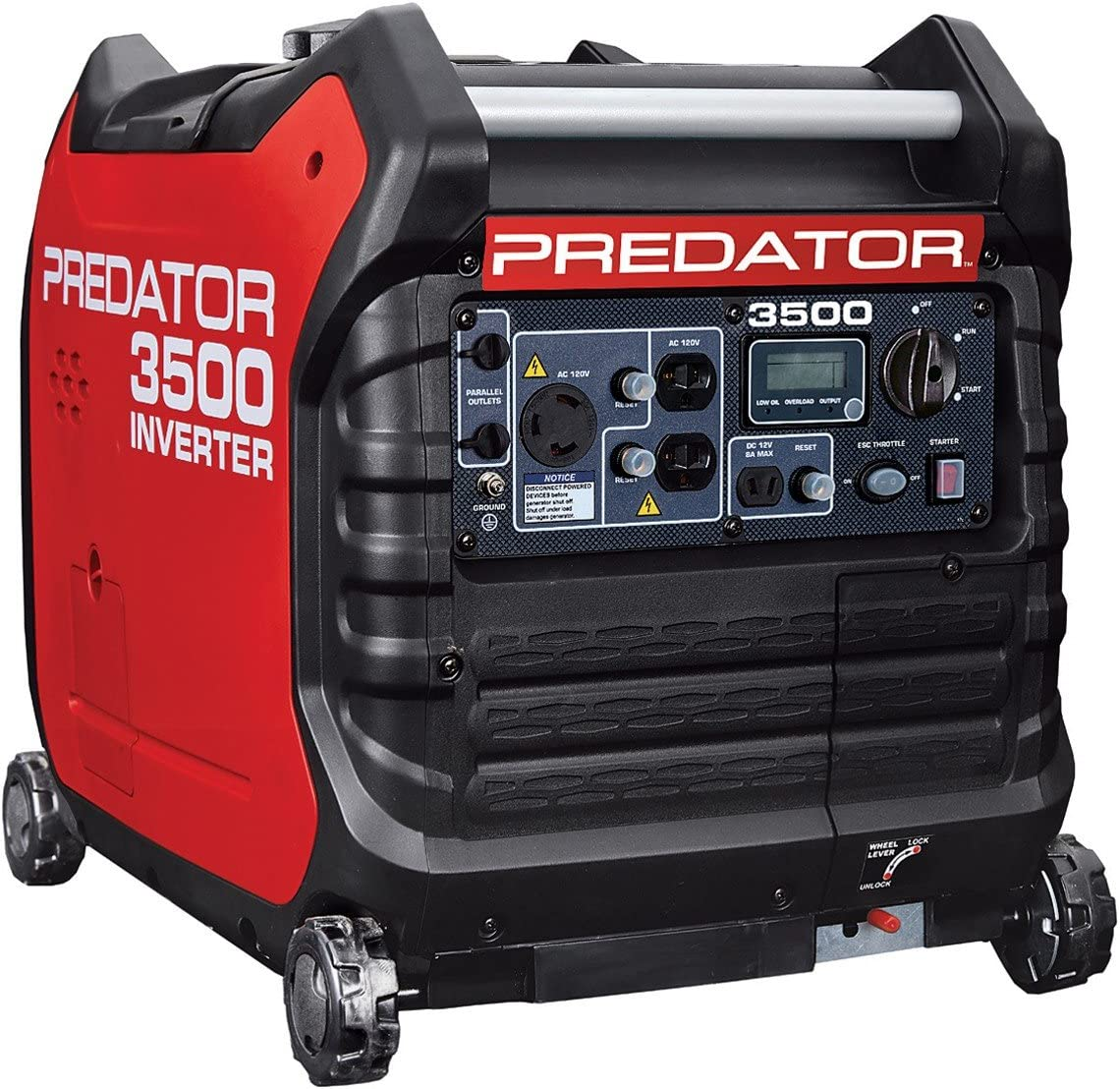 3500 Watt Super Quiet Inverter Generator