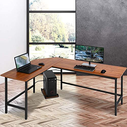 L Shaped Desk Home Office Desk Corner Computer Desk