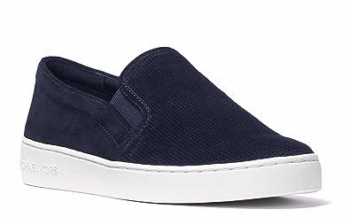 b1f3f3cc533772 Amazon.com | MICHAEL Michael Kors Keaton Slip-on Sneakers Admiral ...