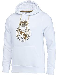 Real Madrid Sudadera con Capucha Colección Oficial - Hombre ...